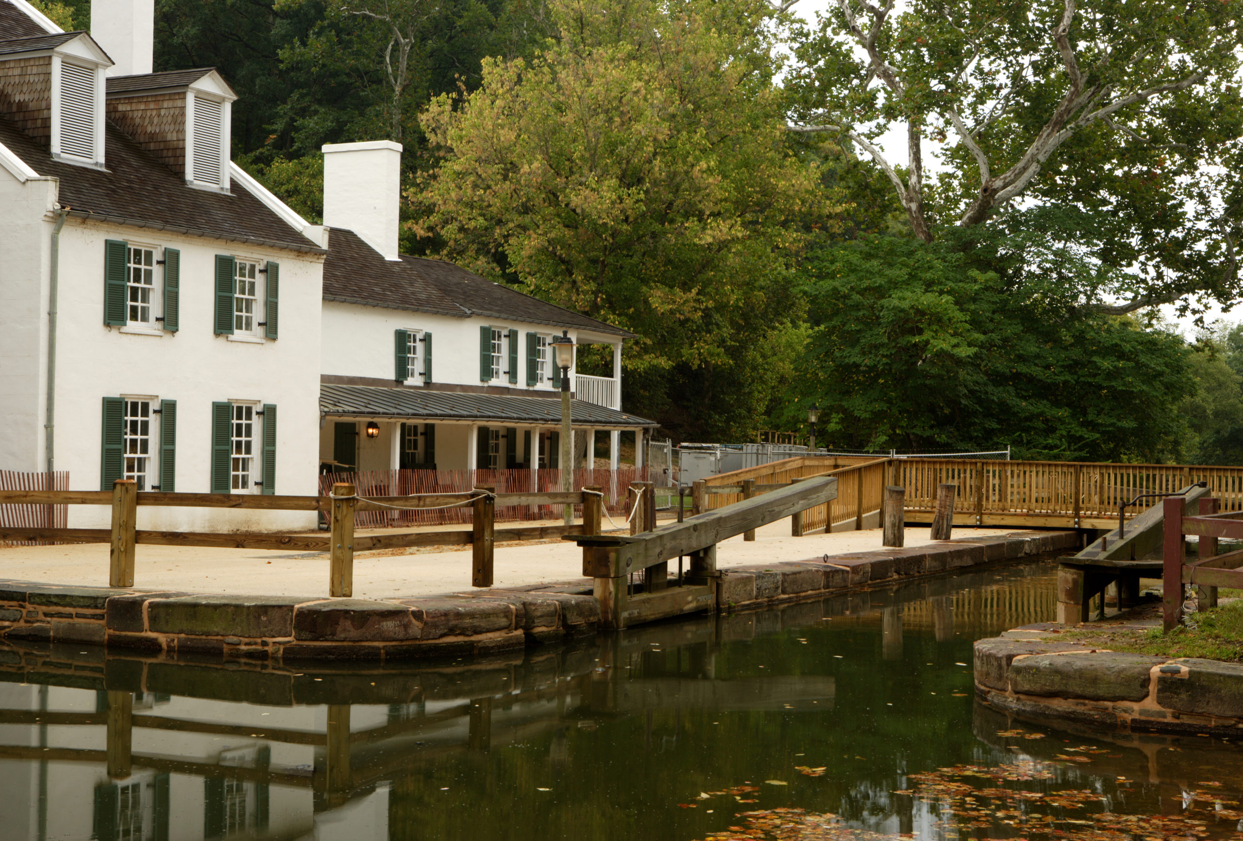 Great Falls Tavern at the Chesapeake & Ohio Canal National Historic Park